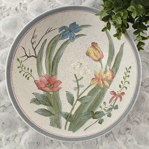 Andrea by Sadek   Floral Hand Painted Bowl